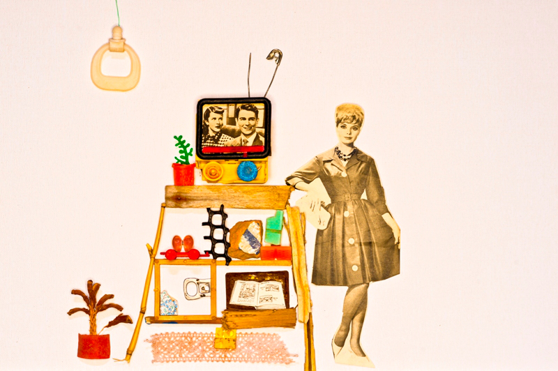 women with tv